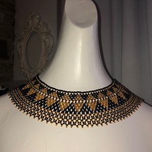 🏺🏺🏺Vintage Bead Egyptian Style Collar Necklace